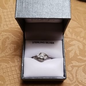 Jewelry - .925 Stirling silver and white Sapphire ring
